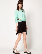 Cheap Monday Wrap Mini Skirt