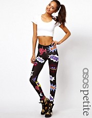 ASOS PETITE Exclusive &quot;POW&quot; Leggings
