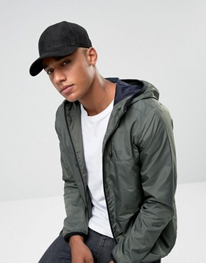 Jack & Jones Baseball Cap in Suede