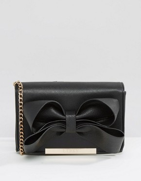 Lipsy Bow Detail Cross Body Bag
