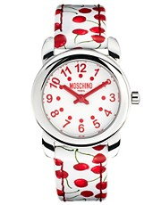 Moschino Cheap & Chic Lets Picnic Cherry Watch