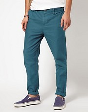 Pantalones de corte slim Civillian de Insight