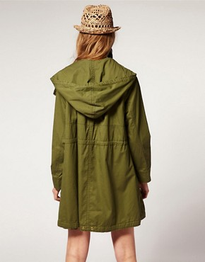 Image 2 ofASOS Double Zip Parka