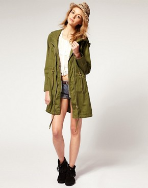 Image 4 ofASOS Double Zip Parka