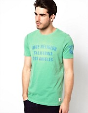 True Religion - Cali - T-shirt con stampa