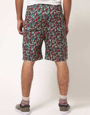Image 2 ofSparks Ream Patterned Shorts