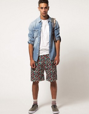 Image 4 ofSparks Ream Patterned Shorts