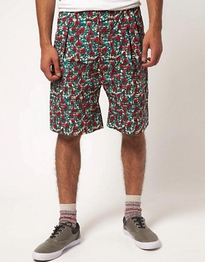 Image 1 ofSparks Ream Patterned Shorts