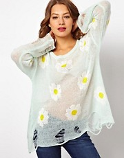 Wildfox Daisy Jumper