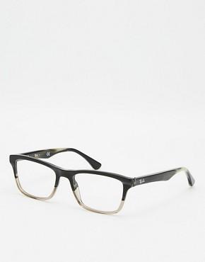 Acetate Prescription Glasses Frame Women Large Frame Black Optics Eyewear(China (Mainland