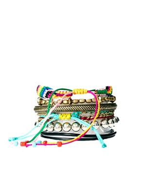 Image 2 ofRiver Island Blogger Friendship Bracelets Pack
