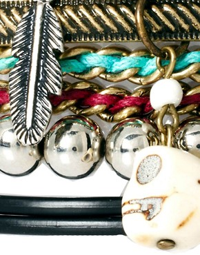 Image 4 ofRiver Island Blogger Friendship Bracelets Pack