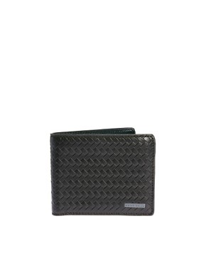 Image 1 ofBoss Black Leather Billfold Wallet