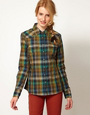 Wrangler Dark Checked Shirt