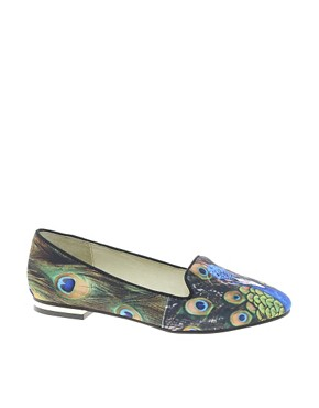 Image 1 of ALDO Abegaila Peacock Slipper Shoes