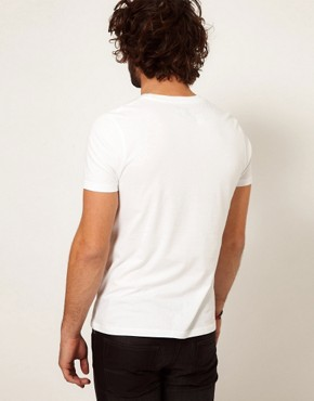 Image 3 ofASOS T-Shirt With Printed Glasses Pocket