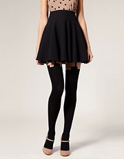 House Of Holland For Pretty Polly Super Suspender Tights