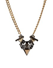 ASOS Jewelled Shard Necklace