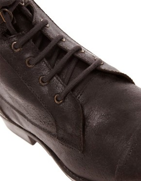 Image 2 ofASOS Workboots in Leather