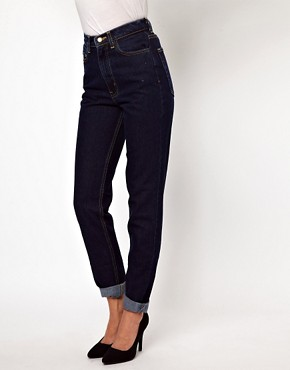 Image 1 of American Apparel High Waisted Jeans
