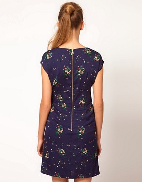 Image 2 ofA Wear Vintage Floral Wrap Dress