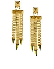 ASOS Pyramid Mesh Earrings