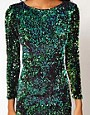 Image 3 ofMotel Gabby Iridescent Sequin Dress