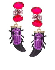 ASOS Jewel Beetle Earrings