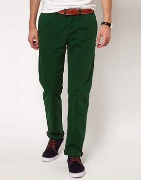 Image 1 ofPlectrum By Ben Sherman EC1 Slim Fit Chino