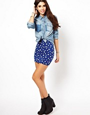 Only Star Mini Skirt
