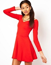 Motel Saskia Skater Dress
