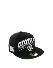 New Era  59Fifty  Oakland Raiders-Kappe