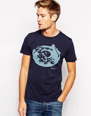 BOSS Orange T-Shirt with Record Print