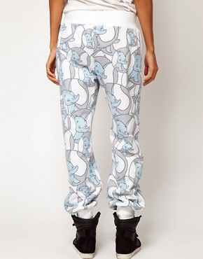 Image 2 ofASOS Sweatpants in Dumbo Print