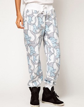 Image 4 ofASOS Sweatpants in Dumbo Print