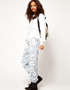Image 1 ofASOS Sweatpants in Dumbo Print