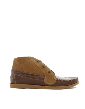 Image 4 ofASOS Chukka Boots in Suede and Leather