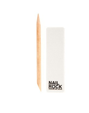 Image 3 ofNail Rock Jade Quail Nail Wraps