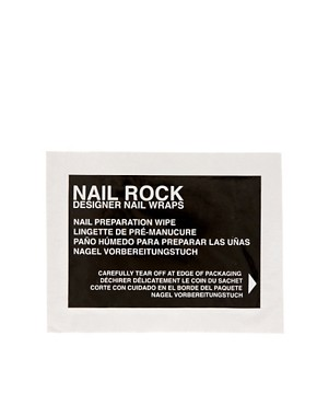 Image 4 ofNail Rock Jade Quail Nail Wraps
