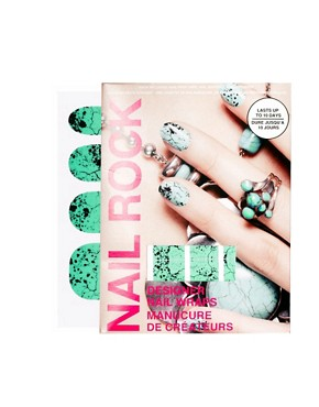 Image 1 ofNail Rock Jade Quail Nail Wraps