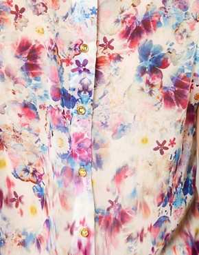 Image 3 ofWarehouse Floral Print Blouse