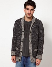 Nudie Cardigan Abe Chunky Knit