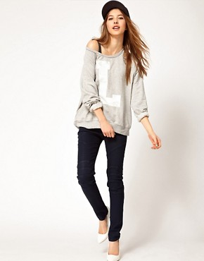 Image 4 ofCurrent/Elliott Moto Ankle Skinny Jeans