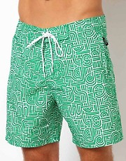 WESC Bamboo Swim Short UK Exclusive