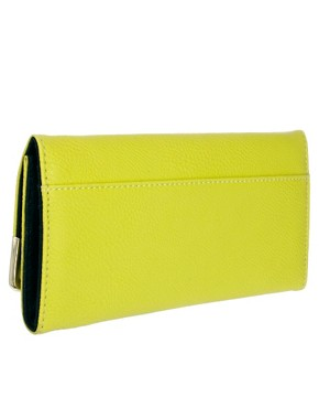 Image 2 ofRiver Island Lime Simple Purse