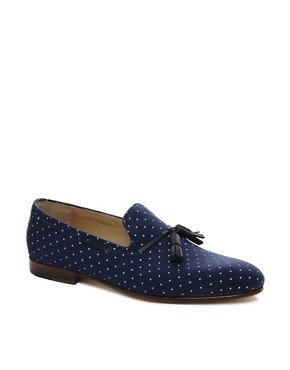 Image 1 ofHouse of Hounds Afred Polka Dot Loafers
