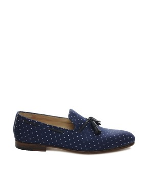 Image 4 ofHouse of Hounds Afred Polka Dot Loafers
