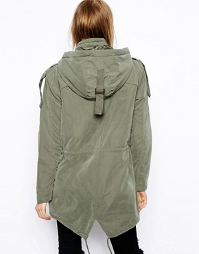 Image 2 ofASOS Popper Parka