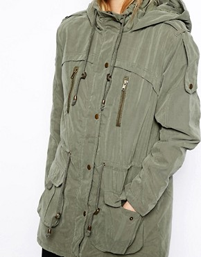 Image 3 ofASOS Popper Parka