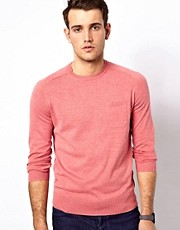 Ben Sherman Jumper with Crew Neck and Pocket
